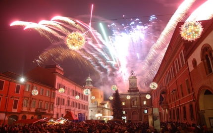 On New Year's eve come to Ravenna